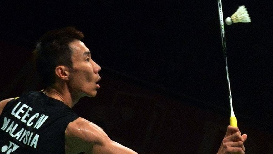 Lee Chong Wei in action during the Indonesia Open, in Jakarta, on June 15, 2013. Lee is gunning for Malaysia's first ever world title off the back of wins this year in South Korea, Indonesia, India and Malaysia.