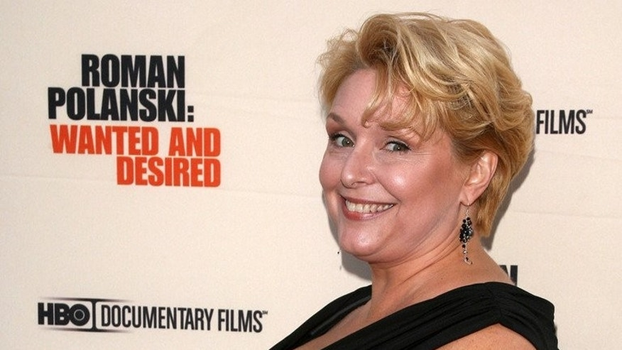 "Samantha Geimer arrives at the premiere of ""Roman Polanski: Wanted And Desired"" at the Paris Theatre on May 6, 2008 in New York City. The woman who was sexually assaulted by filmmaker Roman Polanski in 1977 when she was 13 is to publish her memoirs, a French publishing house said Monday."