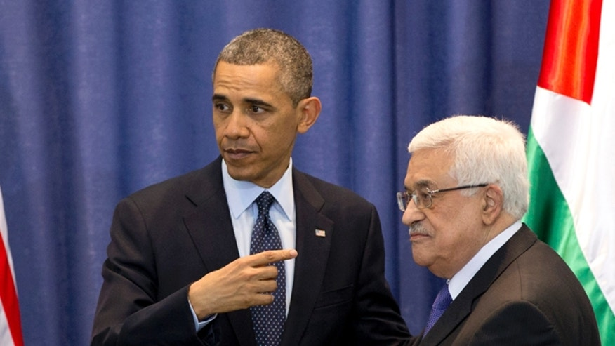 President Obama is trying to restart the mideast peace process, but Palestinian Authority leader Mahmoud Abbas can't even get along with his fellow Palestinian leaders Hamas. (AP)