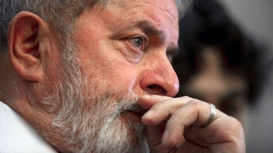 Former Brazilian President Luiz Inacio Lula Da Silva listens to a speech on October 25, 2011, in Mexico City. Lula da Silva was given the all clear here Saturday after tests showed no sign of the throat cancer he was diagnosed with two years ago.