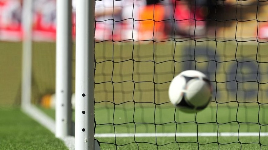 Goal-line technology is tested at Wembley Stadium in London, England on June 2, 2012. At some point during the 2013-14 Premier League season, football history will be made when technology is used to settle a contentious goal-line decision for the first time.