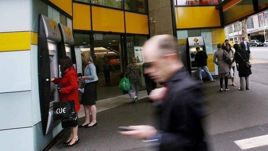 "The Commonwealth Bank said net profit for the 12 months ending June 30 was up 8% to a record Aus$7.68 billion, the biggest ever profit by an Australian banking institution, underlining a buoyant financial position despite ""mixed"" business conditions."