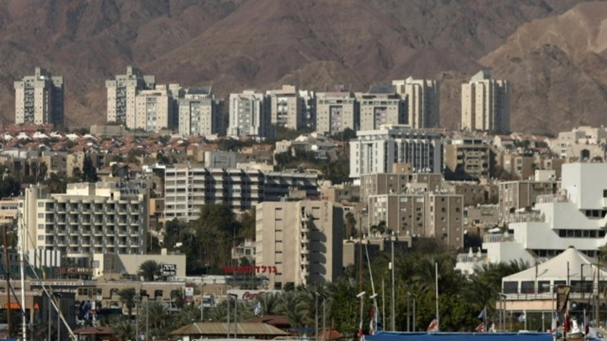 FILE: Jan. 30, 2007: A general view of the Red Sea resort city of Eilat is seen in southern Israel on the border with Egypt.