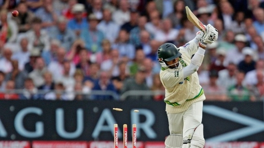 Danish Kaneria of Pakistan on the second day of their first NPower Test cricket match at Trent Bridge in Nottingham on July 30, 2010. Kaneria said Wednesday he has filed an appeal in a London court against his life ban for spot-fixing, vowing to fight on to clear his name.