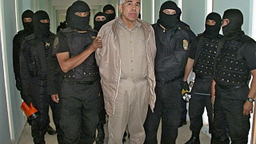 "File photo of Mexican drug cartel boss, Rafael Caro Quintero, in custody at the ""Puente Grande"" prison in Guadalajara on January 29, 2005. A Mexican judge has ordered the re-arrest of Quintero -- who was freed last week on a technicality -- after receiving a US extradition request."
