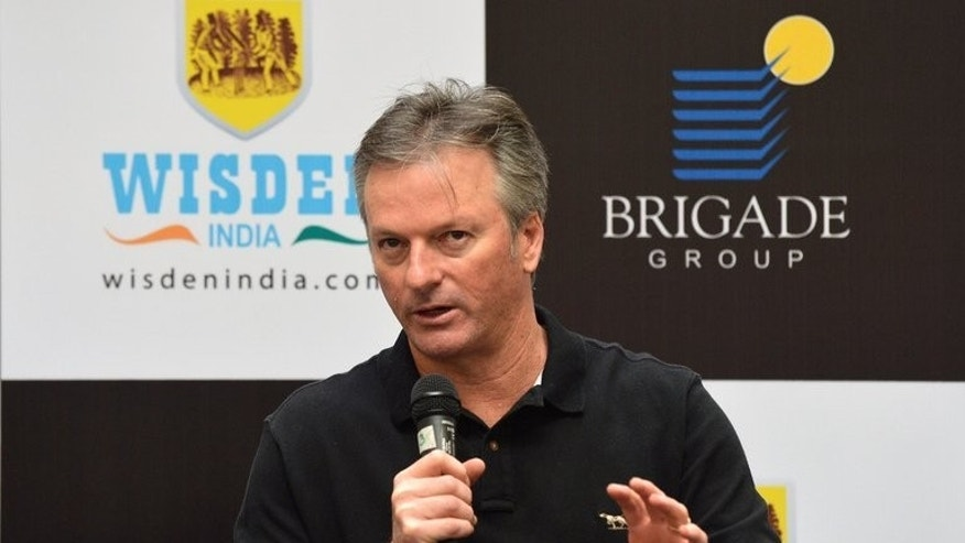 Former Australian captain Steve Waugh pictured in Bangalore on August 1, 2013. Waugh, who played 168 Tests, said selectors need to stick with the nation's top six Test batsmen if they are to have any chance of putting Australian cricket back on a winning path.
