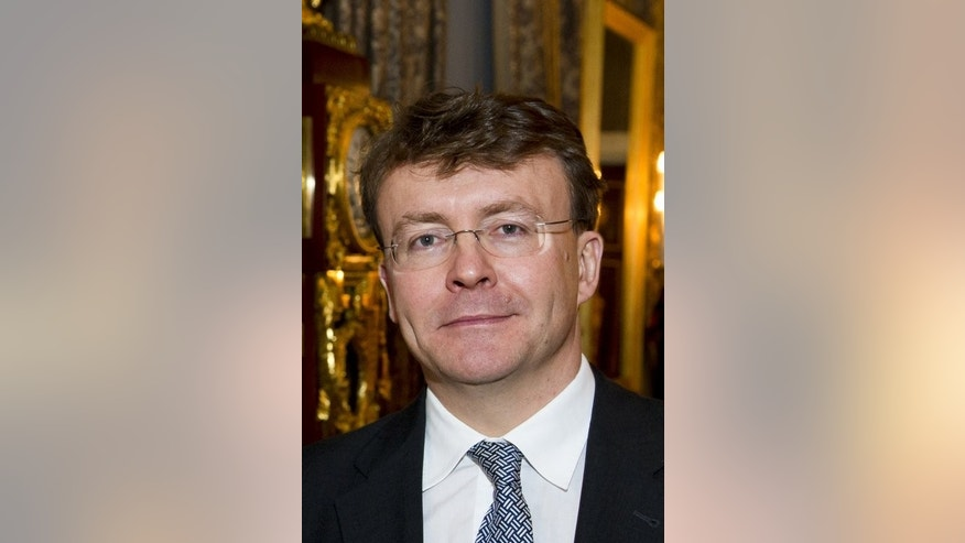 A picture taken on December 17, 2010 shows Dutch Prince Johan Friso during the Prince Claus Award in the Palace on Dam in Amsterdam. Prince Friso, who excluded himself from the line of succession in the name of love, was to be buried on Friday after he died from injuries sustained in a 2012 skiing accident.