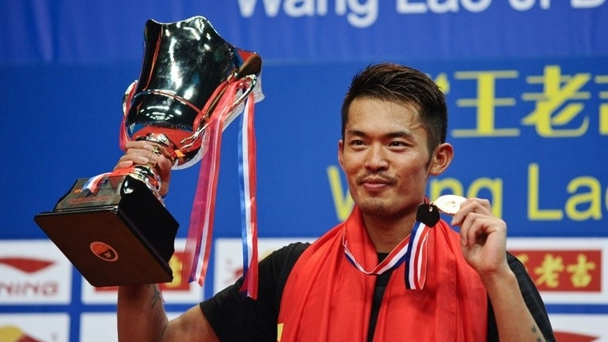 China's Lin Dan, pictured after winning his men's singles final against Malaysia's Lee Chong Wei on August 11, 2013. He said many in badminton's governing body do not understand the problems players face on the court.