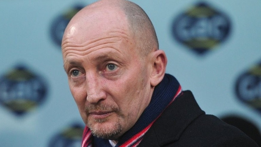 Crystal Palace manager Ian Holloway looks on before a FA Cup match between Crystal Palace and Stoke City at Selhurst Park Stadium, London on January 5, 2013. Holloway faces disciplinary charges over his conduct following his side's Premier League loss to Tottenham Hotspur on Sunday.