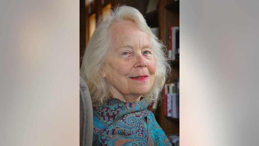 "This undated handout photograph received from Penguin Books in August 2013 shows American Eugenia Herbert, author of the book ""Flora's Empire"" about British influence on Indian gardens, at her home in South Hadley, Massachusetts."