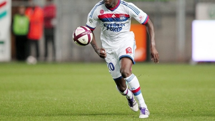 Lyon's French defender Aly Cissokho is seen during the L1 French football match Caen vs Lyon, on September 21, 2011 at the Michel d'Ornano stadium in Caen, northwestern France. Cissokho has joined Liverpool on a season-long loan from Valencia, the Premier League club announced on Tuesday.