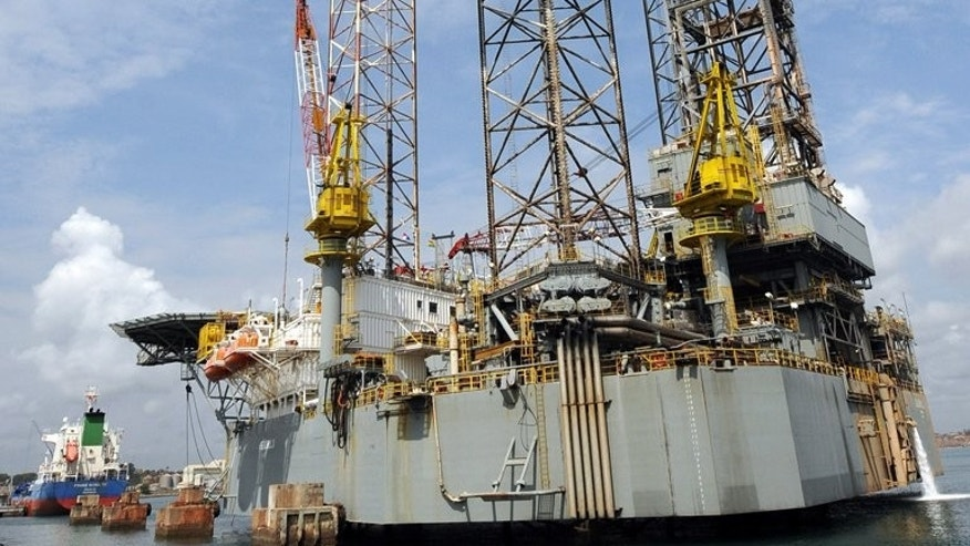 A rig for oil exploration at the Port of Takoradi on December 4, 2008. Ghana looked to defy the trends which have plagued other west African oil producers, replacing graft and waste with prudent spending, but two years after production began there is reason to worry, new reports said.