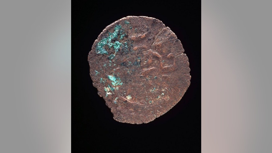 An ancient Kilwa coin from Africa, believed to date from about 1100, is shown at Sydney's Powerhouse Museum. The coins -- believed to have originated in the medieval sultanate of Kilwa, an area which is now in Tanzania -- have led to speculation that parts of northern Australia were visited by other mariners from as far away as the Middle East and Africa.