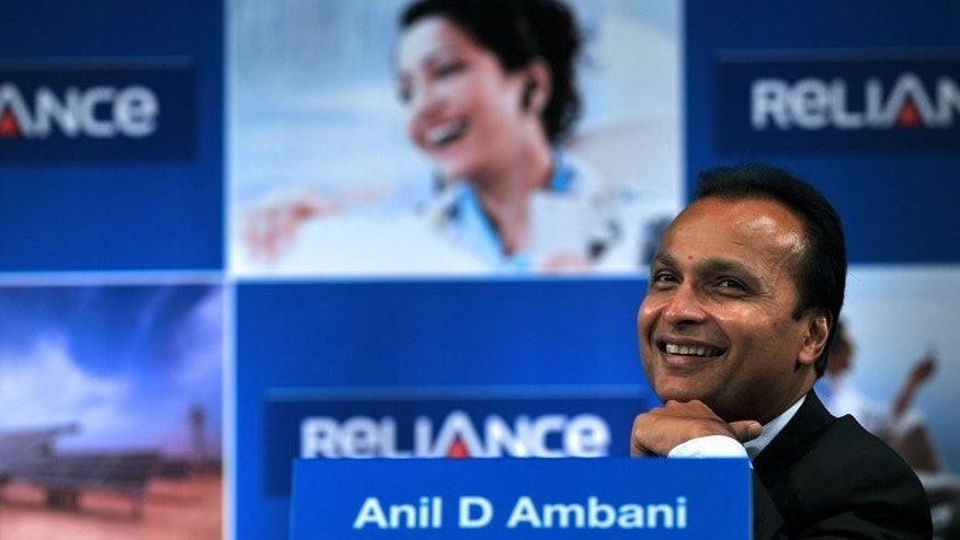 Anil Ambani at the annual general meeting of Reliance Power in Mumbai last September. Ambani, one of India's richest men, appeared in court on Thursday to answer questions about his company's role in the allegedly fraudulent allocation of telecom licences in 2008.