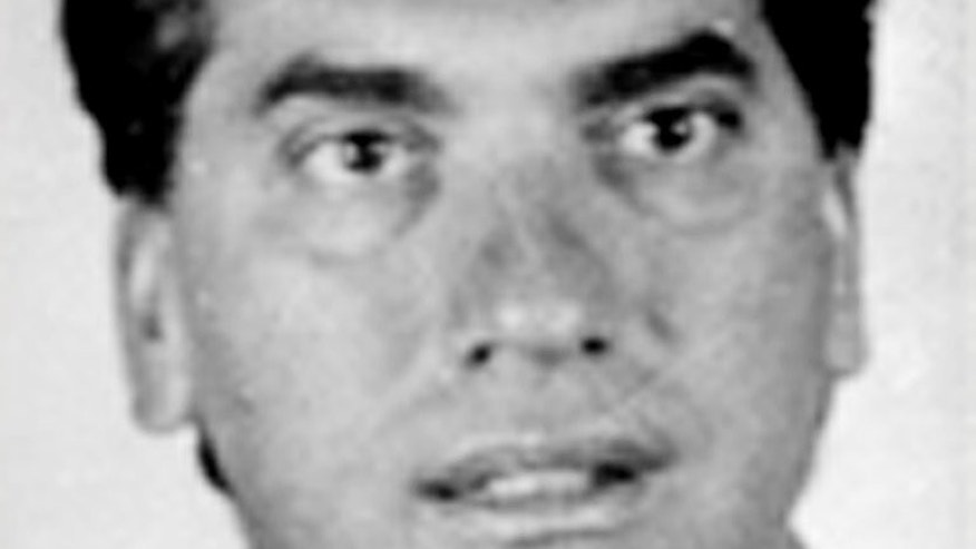 This undated picture released by the Italian Interior Minister's press office on August 8, 2013, shows mafia boss Domenico Rancadore. An Italian mafia boss who was arrested in London after two decades on the run told police he feared he would be killed if he returned to face justice, a court heard Thursday.