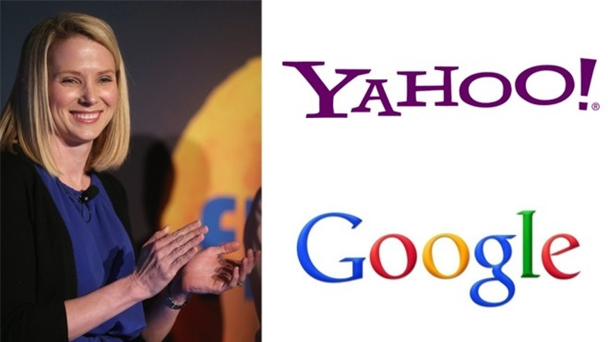 Yahoo CEO Marissa Mayer (left) (Getty Images).
