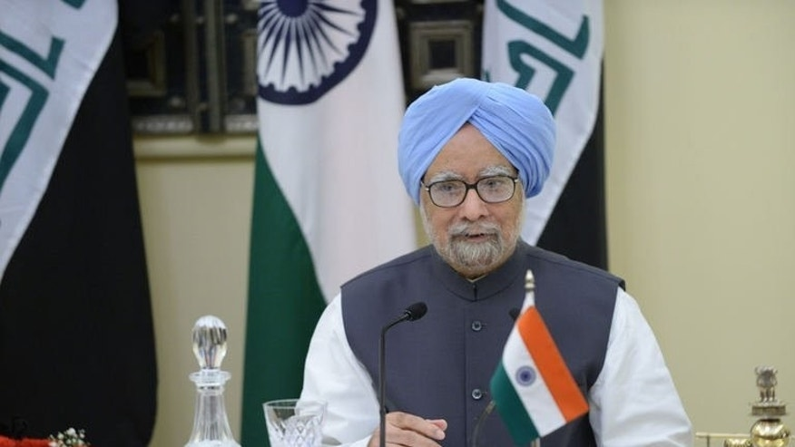 "Indian Prime Minister Manmohan Singh, pictured in New Delhi on August 23, 2013. The embattled leader has appealed to the media, increasingly critical of his scandal-hit government, not to launch a ""witch hunt"" while investigating corruption."