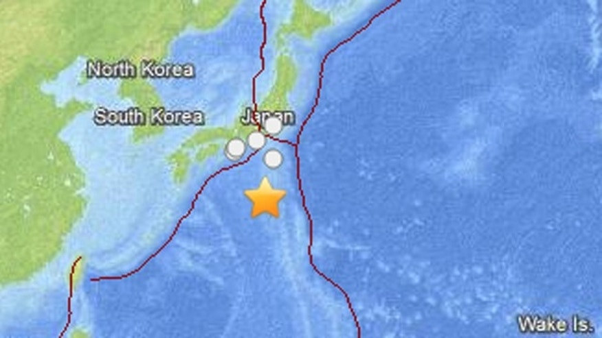 Sept. 3, 2013: A magnitude-6.5 earthquake strikes off the coast of Japan.