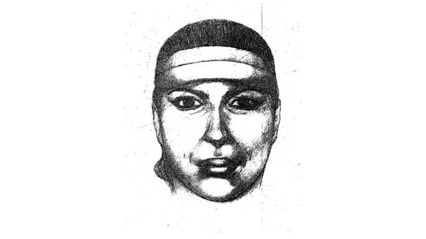 September 3, 2013: This police sketch released by Chihuahua state's attorney general office shows a female who is a suspect in the killings of two bus drivers in Ciudad Juarez, Mexico. She is wearing a sun visor in this image based on the testimony of at least 20 witnesses, according to prosecutors.  (AP Photo)