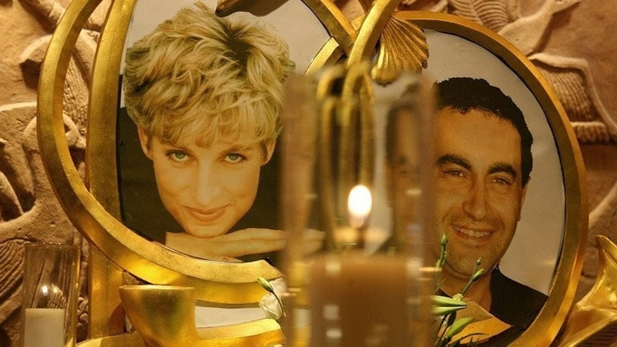 "A permanent memorial to Diana, Princess of Wales and Dodi al-Fayed pictured in the Harrods store in London on August 31, 2006, the ninth anniversary of their death. ""Diana"", a biopic of the late princess of Wales who died in a Paris car crash, was set for its world premiere on Thursday with its star Naomi Watts already defending her involvement in the controversial film."