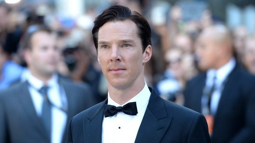 "Actor Benedict Cumberbatch arrives at ""The Fifth Estate"" premiere during the 2013 Toronto International Film Festival on September 5, 2013 in Toronto, Canada. Cumberbatch, who plays the founder of WikiLeaks in a new film, said Friday he hopes Julian Assange can carry on his work exposing secrets."