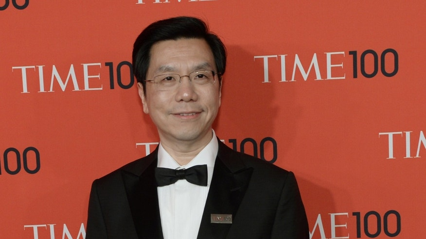 Kai-Fu Lee, a former head of Google China, pictured during the Time 100 Gala event, at Lincoln Center in New York, on April 23, 2013. Lee received a huge outpouring of sympathy on Friday after he announced online that he has cancer.