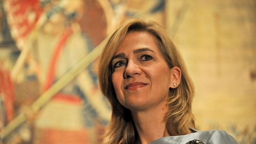 Infanta Cristina of Spain attends an art exhibition preview in Washington on September 13, 2011. King Juan Carlos's scandal-hit daughter and her husband have put their seven-room mansion in Barcelona up for sale for 9.8 million euros ($12.9 million).