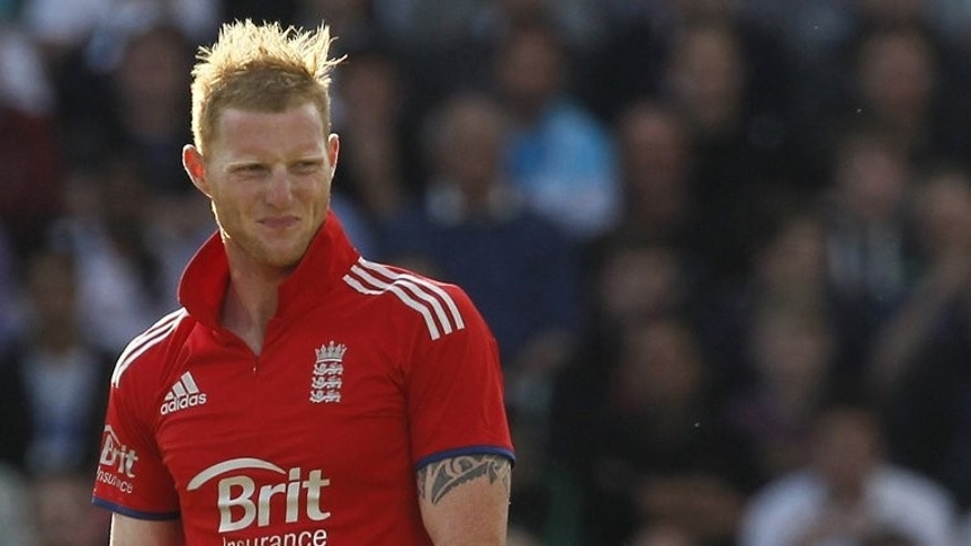 England's Ben Stokes at The Oval cricket ground in London on June 25, 2013. Promising England players such as Stokes can use the ongoing one-dayers against Australia to press their Ashes squad claims, according to bowling coach David Saker.