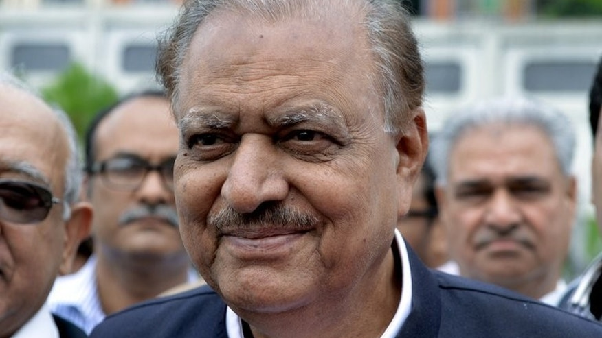 Mamnoon Hussein, who will become president of Pakistan of Pakistan on Sunday, pictured July 24, 2013. He is a well-respected but low-profile businessman who was born in India and had a successful career in the textile industry.