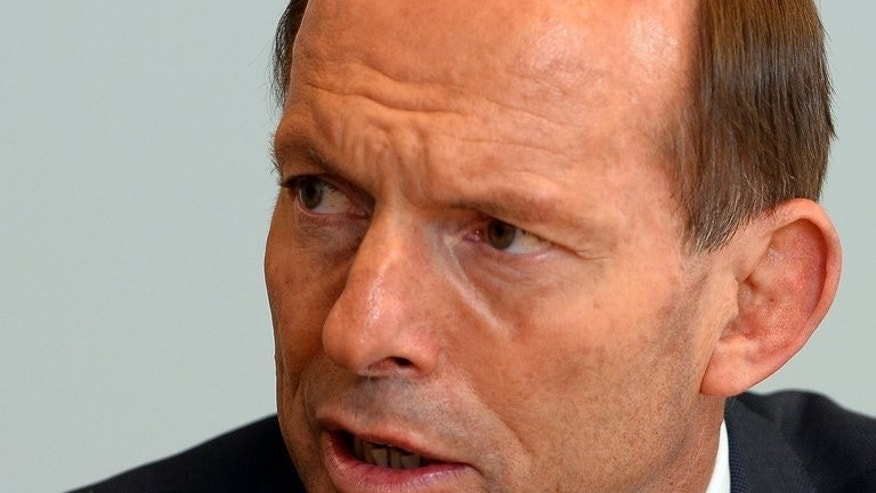 Australian Prime Minister-elect Tony Abbott pictured in Sydney on September 8, 2013. Abbott has started to form his front bench, although the make-up of the Senate is not yety clear.