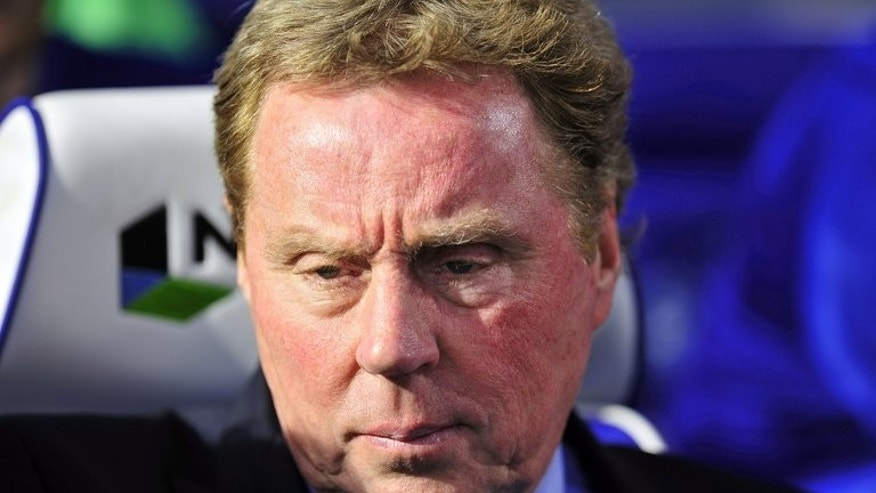 Harry Redknapp pictured during a Premier League match in London on May 4, 2013. Redknapp claimed Frank Lampard would one day become a major star for England.