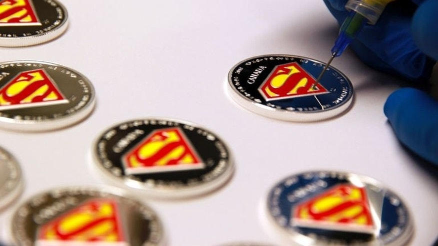 The Royal Canadian Mint in Toronto, Ontario has released seven new coins to commemorate the 75th anniversary of the world's most celebrated Super Hero, Superman.