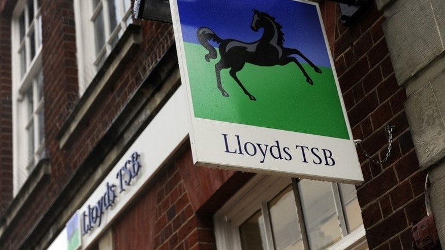A branch of Lloyds TSB Bank is pictured in Basingstoke, Hampshire on November 3, 2009. TSB has relaunched, ending its 18-year absence from the high street to become Britain's eighth biggest lender.