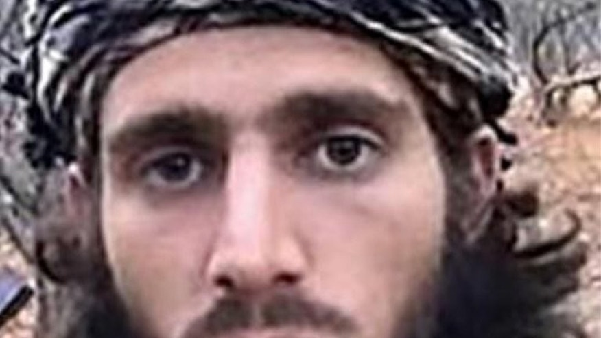 A FBI handout image of US Islamic extremist Omar Hammami. Alabama-born Hamami was killed in a shootout with Al-Qaeda linked Shebab militants, former comrades he had fallen out with.