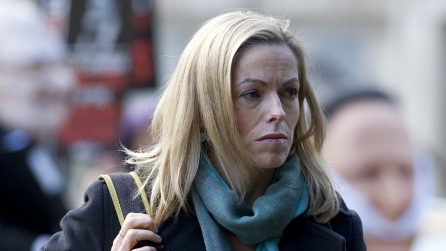 Kate McCann, the mother of abducted toddler Madeleine McCann, arrives to attend the publication of the Leveson report into press ethics in central London on November 29, 2012. The mother of missing British girl Madeleine McCann was back in Portugal on Thursday for the start of libel proceedings against a detective who has written a book about the case.