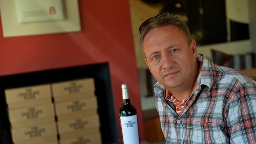 "Mark Kent at the Boekenhoutskloof vineyard in Franschhoek on September, 6, 2013. ""I am now coming to the end of my second decade in wine,"" he said. ""The next ten years in terms of South African wine are probably going to be the most exciting."""