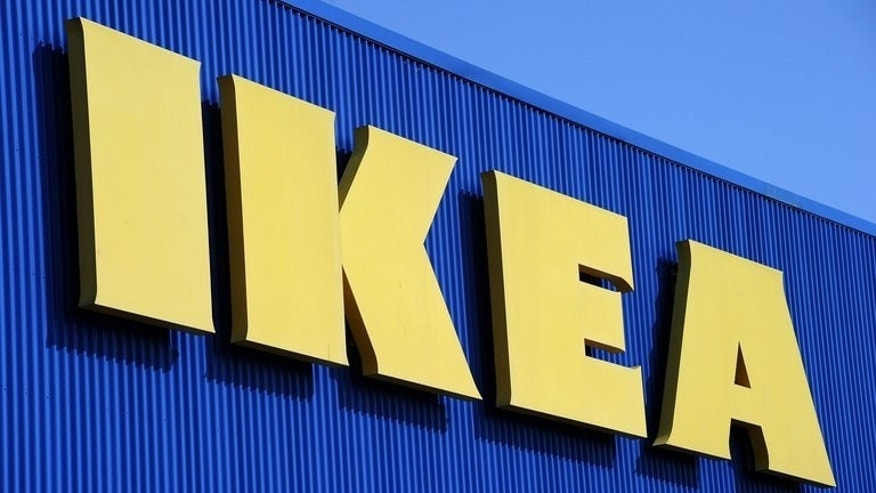 The sign of Swedish furniture giant Ikea in Montpellier, France on March 27, 2013.