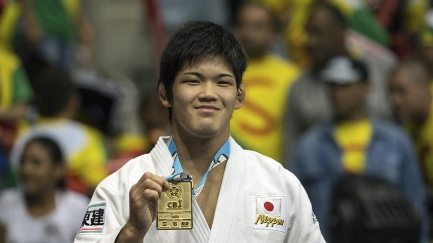 Shohei Ono with his gold medal on August 28 at the World Judo Championships in Rio de Janeiro. World judo champion Shohei Ono has been suspended from his university for physically abusing junior members of the judo squad, an official said Friday, reigniting controversy over violence in Japanese sport.