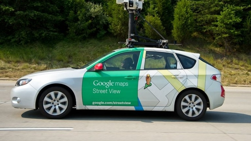 A Google Street View drives near Centreville, Virginia, in the United States on June 28, 2012. A driver collecting video data for internet giant Google's Street View feature in Indonesia slammed into two vehicles after trying to flee responsibility for an earlier crash, police said Saturday.