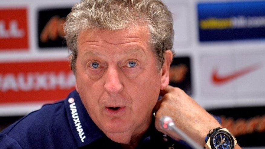 England manager Roy Hodgson, pictured September 9, 2013 in Kiev, has buried the hatchet with Gary Lineker following the former Tottenham star's criticism of Tuesday's 0-0 draw against Ukraine, he revaled.