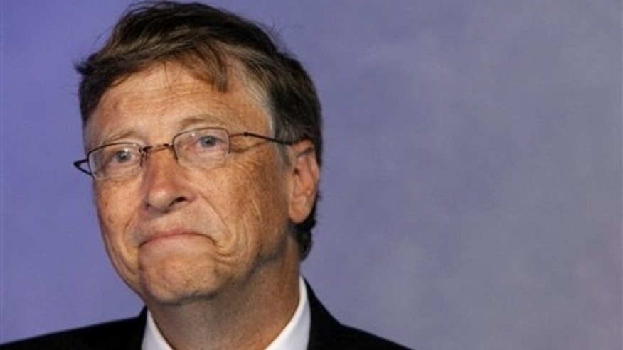 Bill Gates Tops Slim