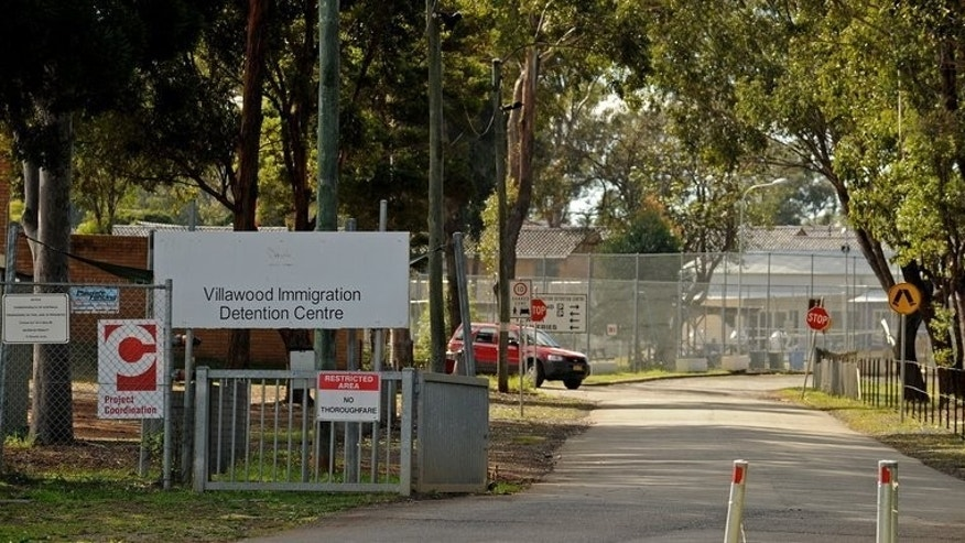 The Villawood Immigration Detention Centre near Sydney, on July 16, 2010. Australia's new prime minister Tony Abbott has said his tougher border protection scheme -- with the navy towing asylum-seeker boats back to Indonesia -- will begin as soon as his government was sworn in.