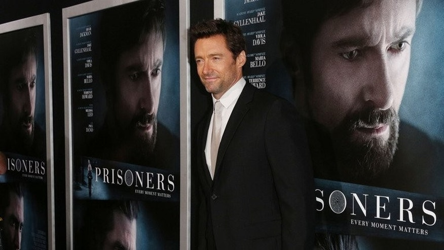 "Actor Hugh Jackman, pictured at the premiere of ""Prisoners"" in Beverly Hills, California on September 12, 2013, will receive a lifetime achievement award at the San Sebastian film festival which gets underway Friday in Spain."