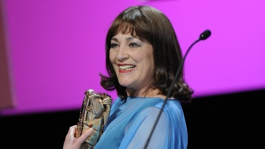 Spanish actress Carmen Maura, pictured at the Cesar Awards ceremony in Paris on February 24, 2012, will receive a lifetime achievement award at the San Sebastian film festival in Spain.