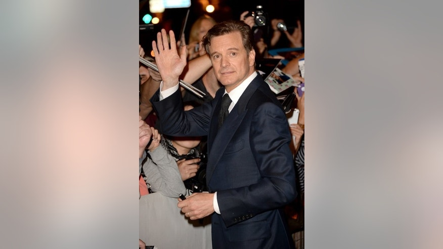 "Actor Colin Firth, pictured at the Toronto International Film Festival on September 8, 2013, plays a private investigator in ""Devil's Knot"", which is in the race for the San Sebastian festival's Golden Shell award for best film."