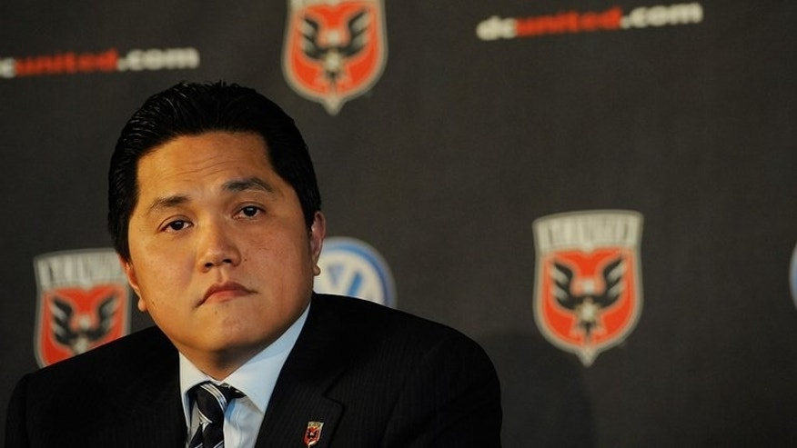 Erick Thohir at a press conference in Washington DC last year by DC United, of which he is co-owner. Inter Milan are edging closer to a deal that would see the Indonesian tycoon acquire a majority share in the Serie A giants, reports said Thursday.