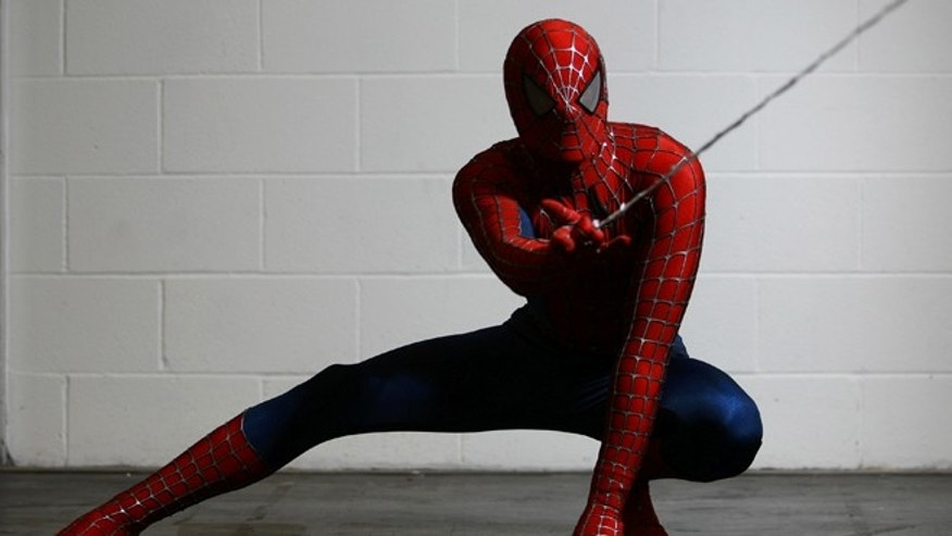LONDON, ENGLAND - FEBRUARY 23:  An actor dressed as Spiderman poses for a photo at the London Super Comic Convention at the ExCeL Centre on February 23, 2013 in London, England. Enthusiasts at the Comic Convention are encouraged to wear a costume of their favourite comic character and flock to the ExCeL to gather all the latest news in the world of comics, manga, anime, film, cosplay, games and cult fiction.  (Photo by Jordan Mansfield/Getty Images)
