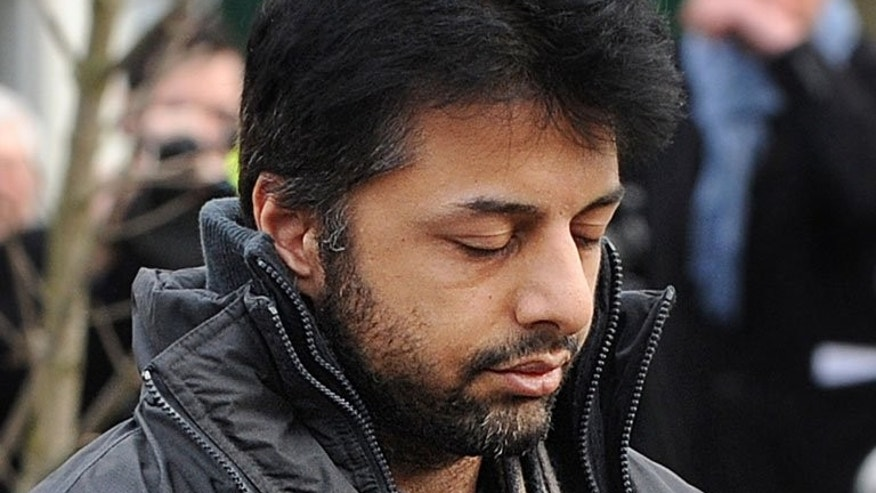 "Businessman Shrien Dewani arrives at Belmarsh Magistrates' Court, south-east London, on February 24, 2011. South African prosecutors refused to comment on a BBC investigation which claims to have exposed holes in the murder case against Dewani, rejecting a ""trial by media."""