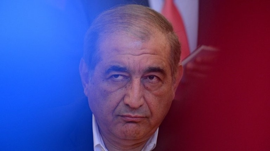 Syrian deputy Prime Minister Qadri Jamil attends a meeting in Moscow, on July 22, 2013.