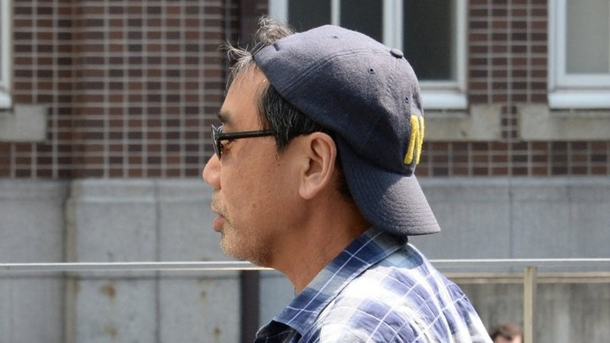 Publicity-shy Japanese author Haruki Murakami, shown in Kyoto in May, is favourite for this year's Nobel Prize in Literature, betting odds show